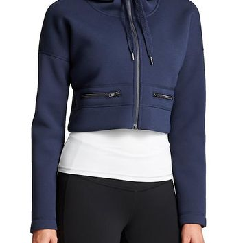 Athleta Womens Fuse Cropped Jacket
