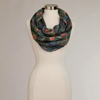 Peacock Infinity Scarf | World Market