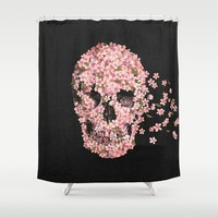 A Beautiful Death  Shower Curtain by Terry Fan