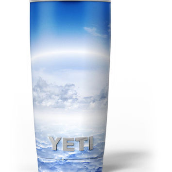 Vivid Blue Reflective Clouds on the Horizon Yeti Rambler Skin Kit