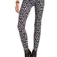 Tribal Print Cotton Legging: Charlotte Russe
