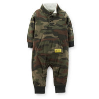 1-Piece Microfleece Jumpsuit