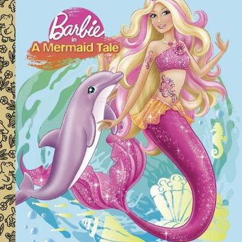 Barbie in a Mermaid Tale Little Golden Books