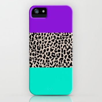 Leopard National Flag III iPhone & iPod Case by M Studio
