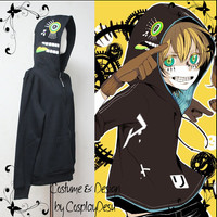 Vocaloid Matryoshka Hoodie color Black worn by Kagamine Len/Rin