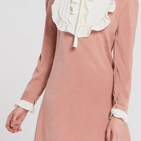 Nella Ruffle Neck Dress