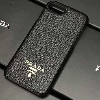 Perfect Prada Phone Cover Case For iphone 6 6s 6plus 6s-plus 7 7plus 8 8plus iPhone X XS XS max XR