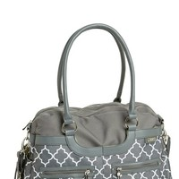 Infant Girl's JJ Cole Collections 'Satchel' Diaper Bag