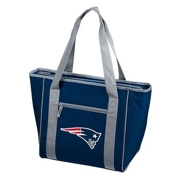 New England Patriots NFL 30 Can Cooler Tote