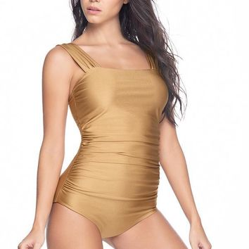 ESTIVO Palm Noir Reversible One Piece