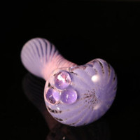Mermaid series: Pink and Purple girly glass pipe
