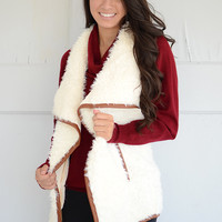 Willow Faux Shearling Vest