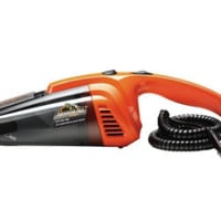 12-Volt Corded Handheld Wet/Dry Vacuum Cleaner with Washable Filter Car Cleaner