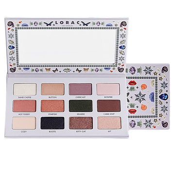 LORAC White 12 Colors Eye Shadow [10975215628]