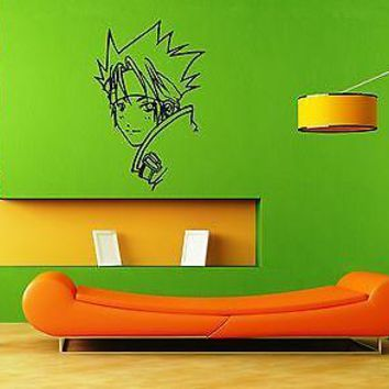 Wall Sticker Vinyl Decal Japan Anime Naruto Cartoon Decor for Kids Room Unique Gift (ig1130)
