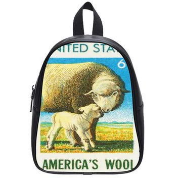 American Wool School Backpack Large
