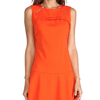 MM Couture by Miss Me Drop Waist Sleeveless Dress in Orange