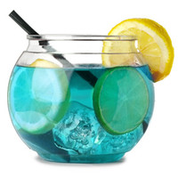 Individual Mini Cocktail Fish Bowl 20oz / 568ml