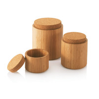 Bamboo & Cork Canisters