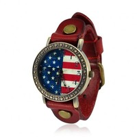 Vintage National Flag Watch by deniserose on Zibbet
