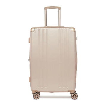 Ambeur Gold Medium Suitcase