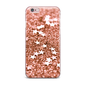 "Iris Lehnhardt ""Copper Glaze"" Brown iPhone Case"