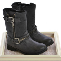 Volatile Kids Motorcycle Boots for Girls