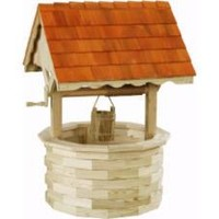 LuxCraft 6 ft. Treated Wishing Well