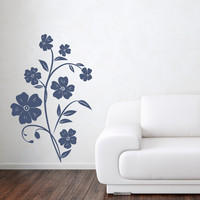 Streptocarpus Flower Wall Decal