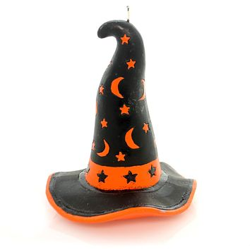 Halloween Witch's Hat Candle Halloween Decor