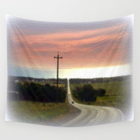Road to Jervis Bay Wall Tapestry by Chris' Landscape Images Of Australia