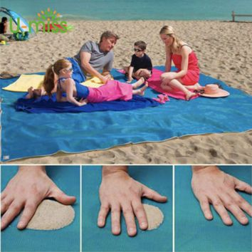 Sandless Blanket - Sand Falls Through With Ease - No More Sandy Mess - NOT AVAILABLE IN STORES