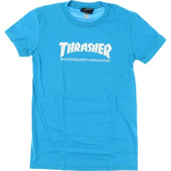 Thrasher Magazine Light Blue T-shirt