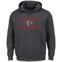 Atlanta Falcons NFL Kick Return Hoodie (Charcoal)