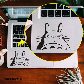 "Totoro Anime Notebook Touchpad Decal Laptop Trackpad Sticker for 11"" 12"" 13"" 15 Apple Macbook Air / Pro / Retina Cartoon Sticker"