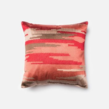 Loloi Coral Decorative Throw Pillow (P0028)