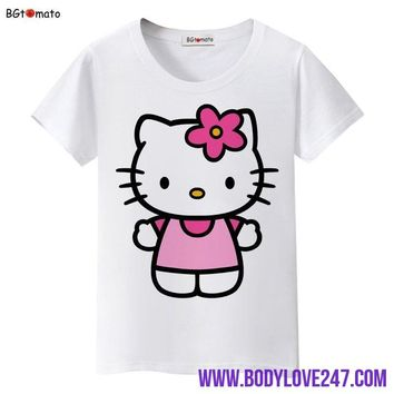 Hello Kitty lovely cartoon T-shirts