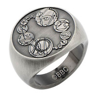 Doctor Who Masters Saxon Signet Finger Ring