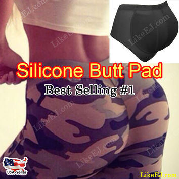 Butt Enhancer body Shaper Buttocks Pads Enhancer Hip Up Silicone  Panty Tummy Control Girdle