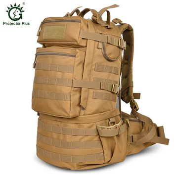 50L Tactical MOLLE Protector + Backpack