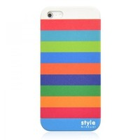 Rainbow Color Stripes Case for iPhone 5