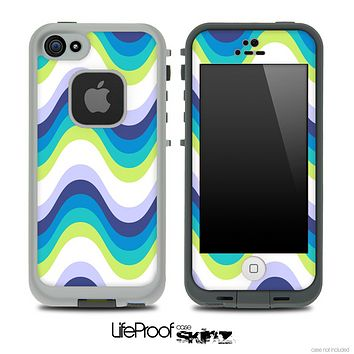 Color-Bright V5 Chevron Pattern Skin for the iPhone 5 or 4/4s LifeProof Case