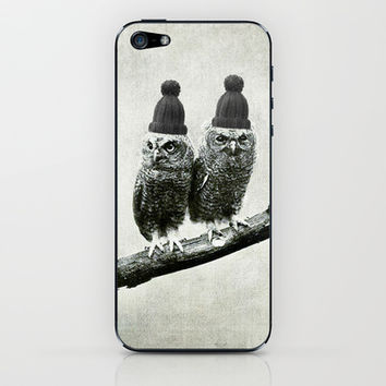 Owls iPhone & iPod Skin by Joanna Designs