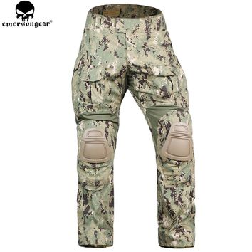 EMERSONGEAR Combat Pants Tactical Pants With Knee Pads Tactical Trousers Military Army Hunting Camouflage Pants Multicam Aor2