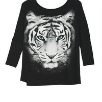 Artistic Tiger Face Tee