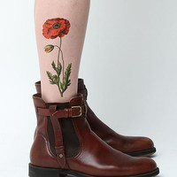 Poppy Lock and Drop It- Temporary Tattoo (Set of 2)