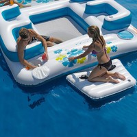 Waldorff's: Giant Inflatable Floating Island 6 Person $400.00