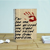 Supernatural Gripped You Tight Photo Notebook Auroid