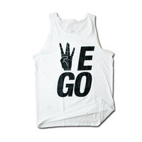 "WestSide ""WEGO"" Tank in White 