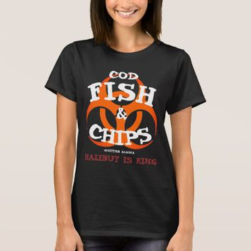 COD FISH AND CHIPS IS A BIOHAZARD T-Shirt